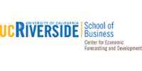 UC Riverside Center for Economic Forecasting & Development