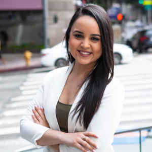 Claudia Moreno (Southern California Outreach Manager at Small Business Majority)